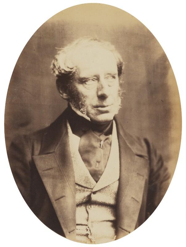 John Somerset Pakington, 1st Baron Hampton, by (George) Herbert Watkins, late 1850s - NPG P301(8) - © National Portrait Gallery, London