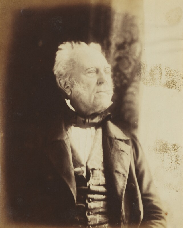 Walter Savage Landor, by Herbert Watkins, late 1850s - NPG P301(9) - © National Portrait Gallery, London