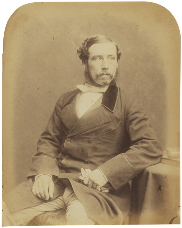 William Hare, 3rd Earl of Listowel, by Herbert Watkins, late 1850s - NPG P301(10) - © National Portrait Gallery, London
