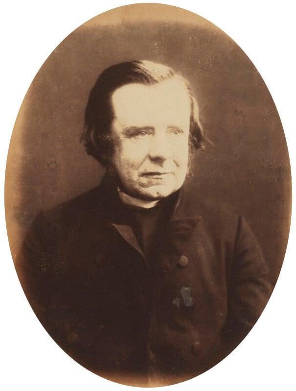 Samuel Wilberforce, by Herbert Watkins, late 1850s - NPG P301(11) - © National Portrait Gallery, London