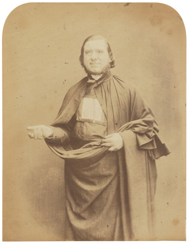 Alessandro Gavazzi, by Herbert Watkins, late 1850s - NPG P301(13) - © National Portrait Gallery, London