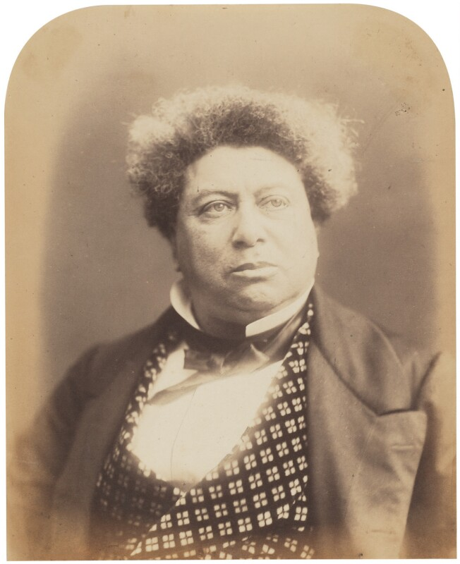 Alexandre Dumas, by Herbert Watkins, 1857 - NPG P301(17) - © National Portrait Gallery, London