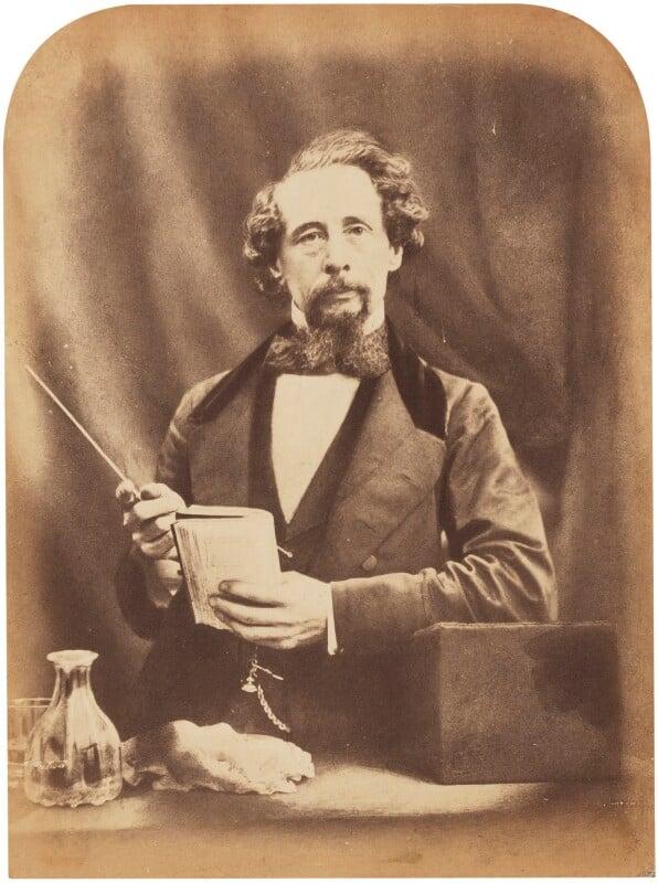 Charles Dickens, by Herbert Watkins, 29 April 1858 - NPG P301(20) - © National Portrait Gallery, London