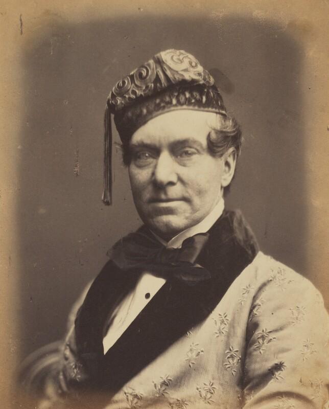 Charles James Mathews, by (George) Herbert Watkins, late 1850s - NPG P301(24) - © National Portrait Gallery, London