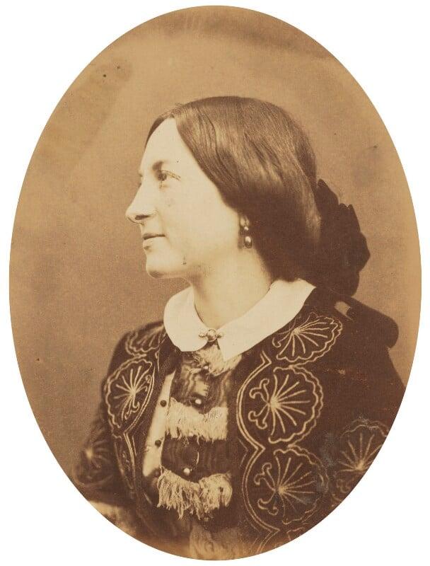 Effie Gray (Lady Millais), by (George) Herbert Watkins, late 1850s - NPG P301(37) - © National Portrait Gallery, London