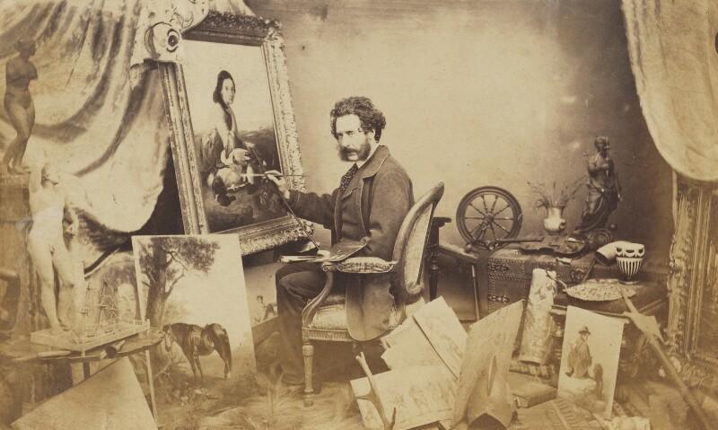 Thomas Faed, by Herbert Watkins, late 1850s -NPG P301(45) - © National Portrait Gallery, London