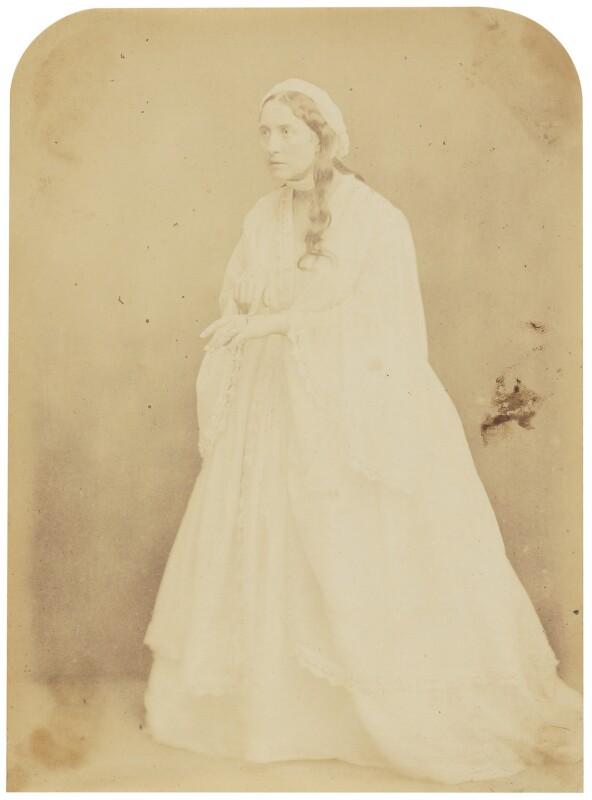 Adelaide Ristori, by Herbert Watkins, late 1850s - NPG P301(51) - © National Portrait Gallery, London
