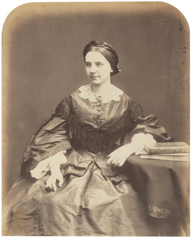 Victoire, Lady Crampton, by Herbert Watkins, late 1850s - NPG P301(57) - © National Portrait Gallery, London