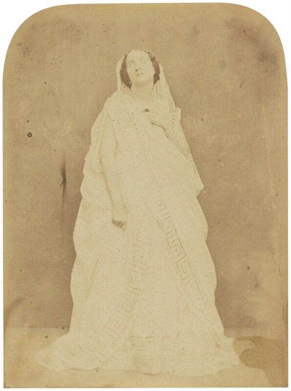 Adelaide Ristori, by Herbert Watkins, late 1850s - NPG P301(64) - © National Portrait Gallery, London