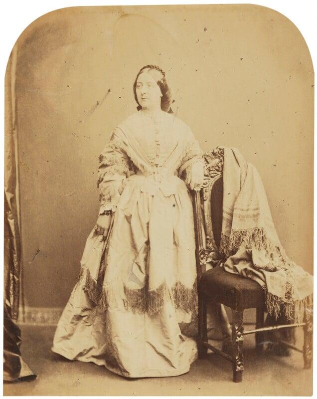 Adelaide Ristori, by Herbert Watkins, late 1850s - NPG P301(95) - © National Portrait Gallery, London
