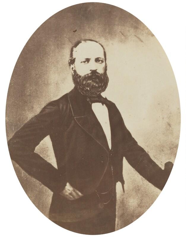 Count Felice Orsini, by Herbert Watkins, late 1850s - NPG P301(98) - © National Portrait Gallery, London