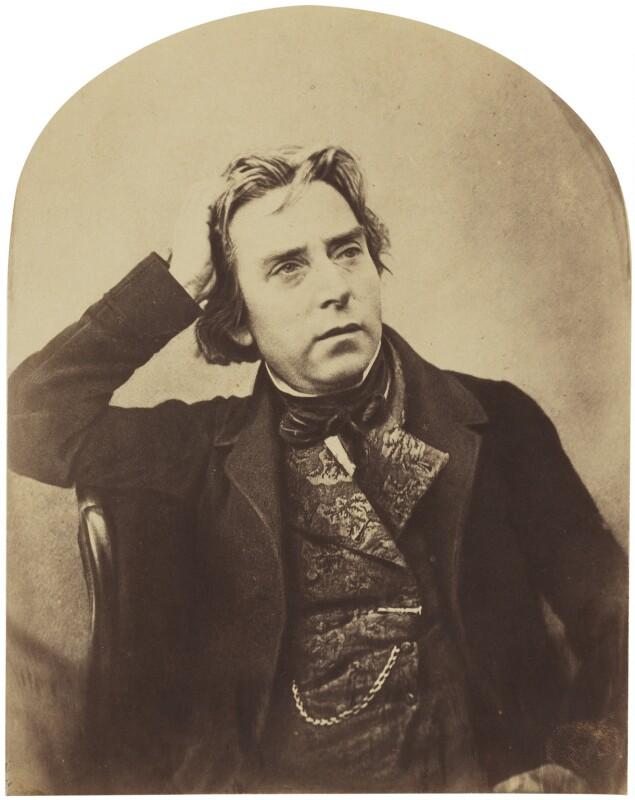 Douglas William Jerrold, by Herbert Watkins, late 1850s - NPG P301(121) - © National Portrait Gallery, London