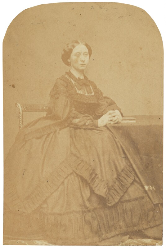 Victoria, Empress of Germany and Queen of Prussia, by (George) Herbert Watkins, late 1850s - NPG P301(150a) - © National Portrait Gallery, London