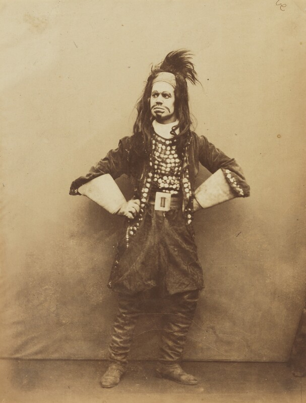 John Lawrence Toole as Fanfaronde in 'Belphegor the Mountebank', by Herbert Watkins, late 1850s -NPG P301(160) - © National Portrait Gallery, London