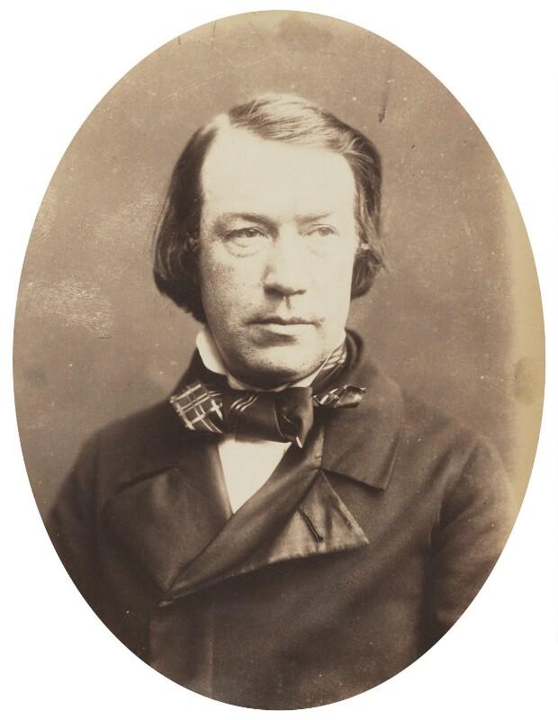Charles Mackay, by Herbert Watkins, late 1850s - NPG P301(178) - © National Portrait Gallery, London