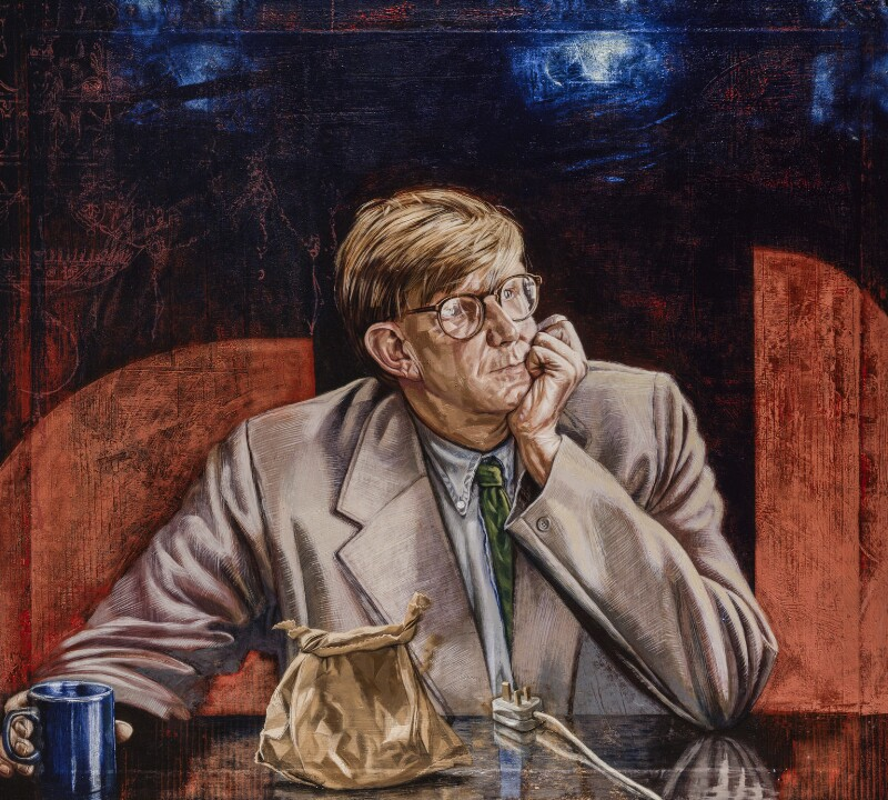 Alan Bennett, by Tom Wood, 1993 - NPG 6186 - © National Portrait Gallery, London