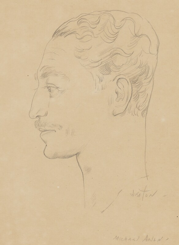 Michael Arlen, by Cecil Beaton, 1930s? - NPG 6231 - © National Portrait Gallery, London