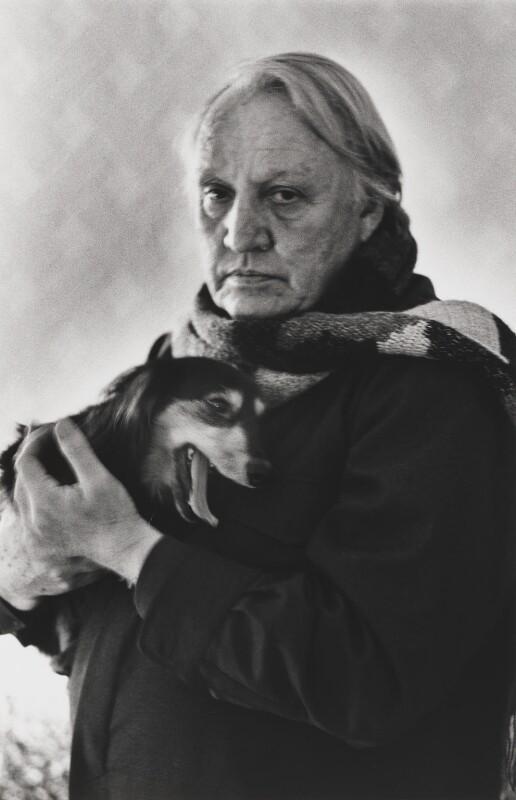 Joseph Losey, by Alice Springs (June Newton), 1979 - NPG P548 - © Alice Springs