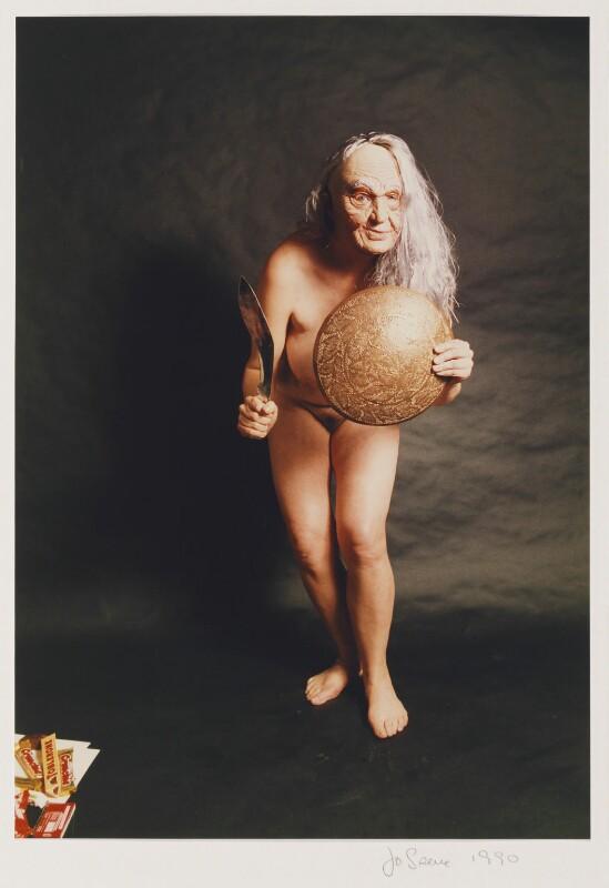 Jo Spence, by Jo Spence, 1990 - NPG P849 - © Terry Dennett