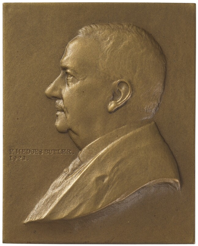 Frank Hedges Butler, by William Morris, 1923 - NPG 6242 - © National Portrait Gallery, London