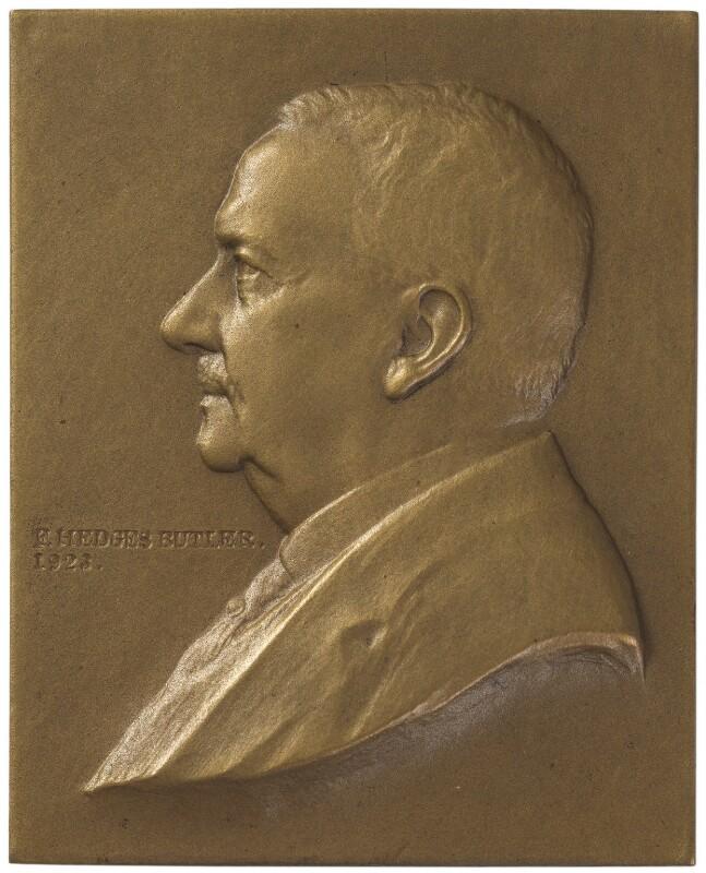Frank Hedges Butler, by William Morris, 1923 - NPG 6242 - © National Portrait Gallery, London