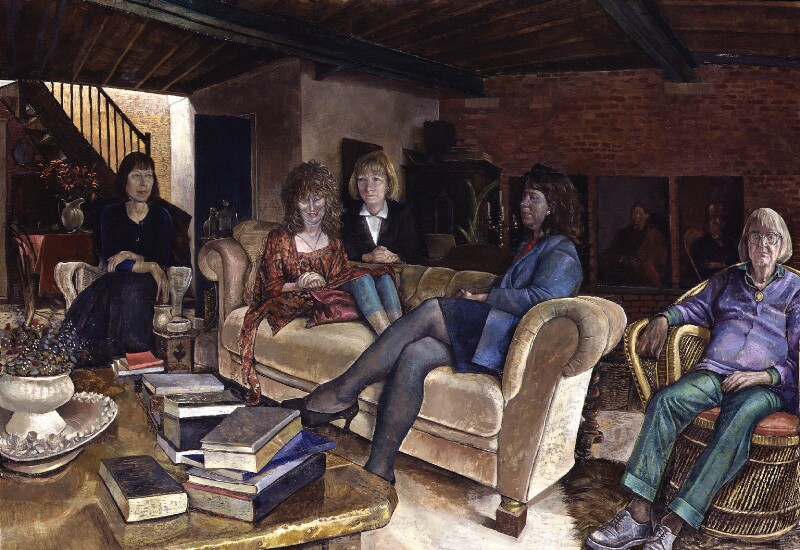 Women's Page Contributors to The Guardian, by Sarah Raphael, 1994 - NPG 6247 - © National Portrait Gallery, London