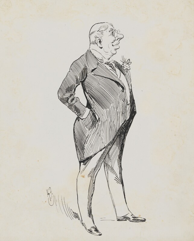 Bayly N. Akroyd, by Harry Furniss,  - NPG 6251(1) - © National Portrait Gallery, London