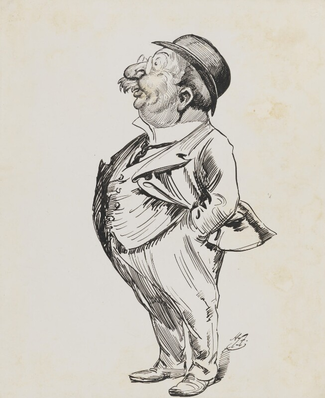 Henry Augustus Johnston, Lord Johnston, by Harry Furniss,  - NPG 6251(32) - © National Portrait Gallery, London