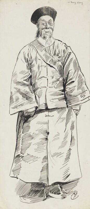 Li Hongzhang (Li Hung Chang), by Harry Furniss,  - NPG 6251(36) - © National Portrait Gallery, London