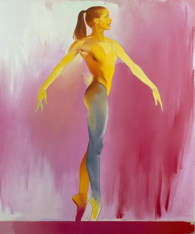 Darcey Bussell, by Allen Jones, 1994 - NPG 6252 - © National Portrait Gallery, London