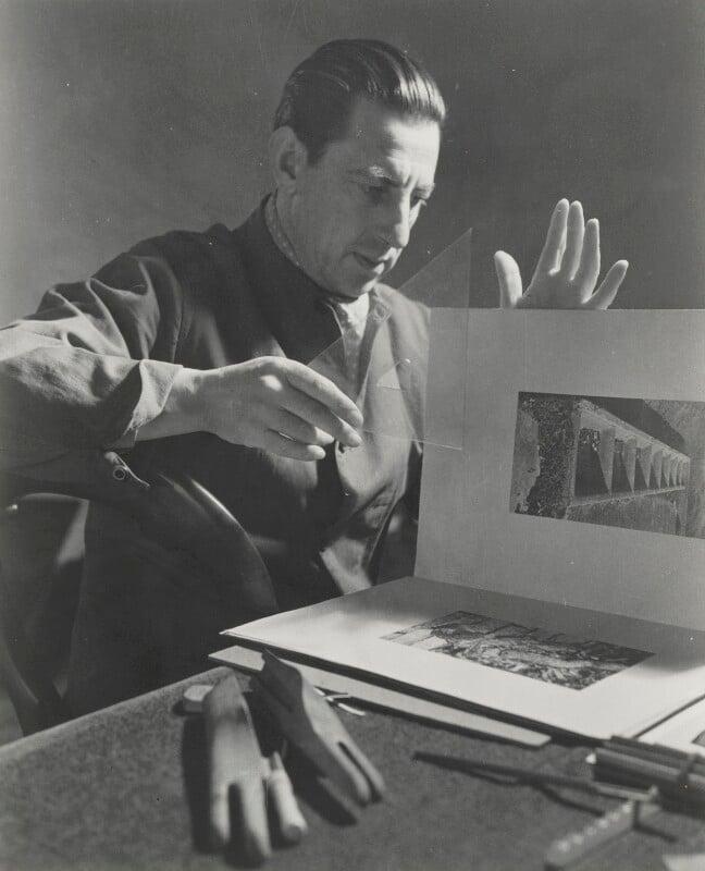 Paul Nash, by Helen Muspratt, circa 1932 - NPG P572 - © National Portrait Gallery, London