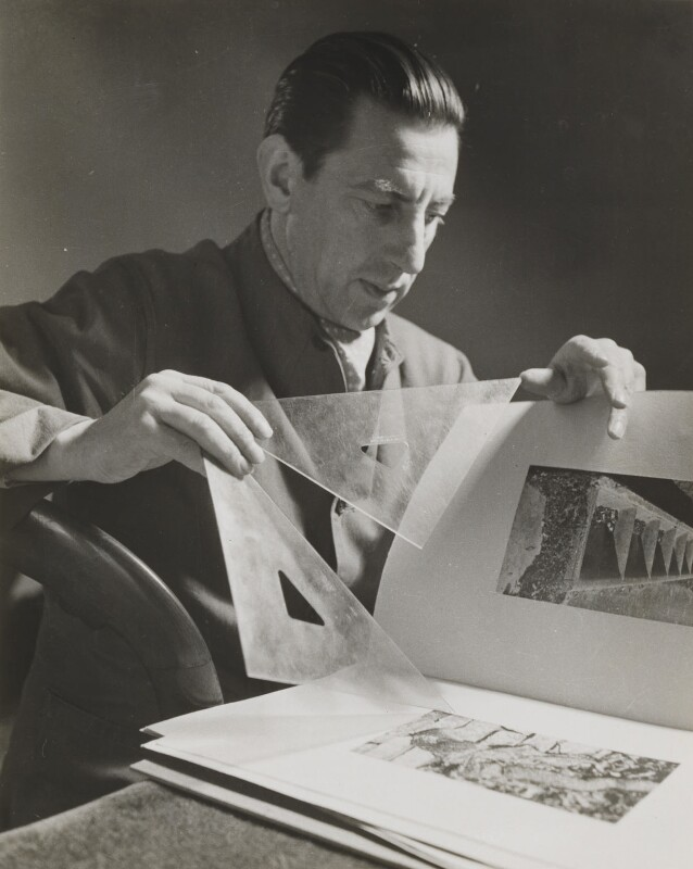 Paul Nash, by Helen Muspratt, circa 1932 - NPG P573 - © National Portrait Gallery, London