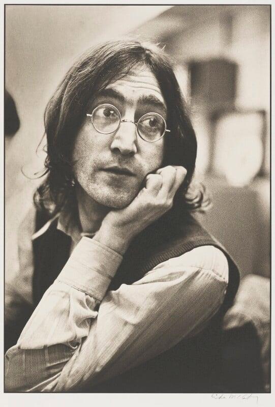 John Lennon, by Linda McCartney, 1968 - NPG P575 - © Paul McCartney