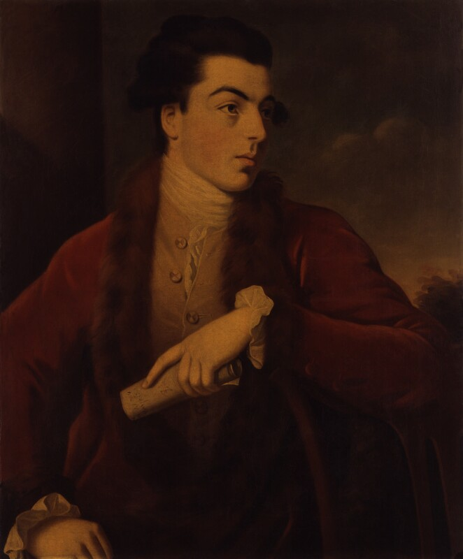 Unknown man, formerly known as Gabriel Piozzi, by Unknown artist, late 18th century - NPG 761a - © National Portrait Gallery, London