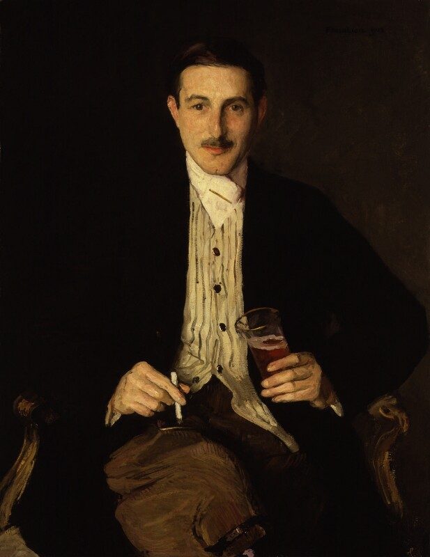 Gilbert Frankau, by Flora Lion, 1923 - NPG 6313 - © reserved; collection National Portrait Gallery, London