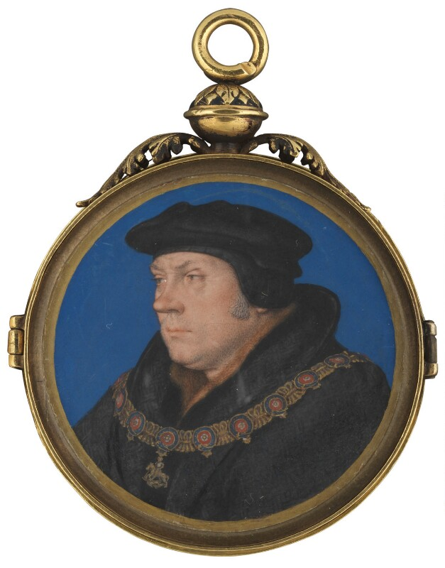 Thomas Cromwell, Earl of Essex, studio of Hans Holbein the Younger, circa 1537 - NPG 6311 - © National Portrait Gallery, London