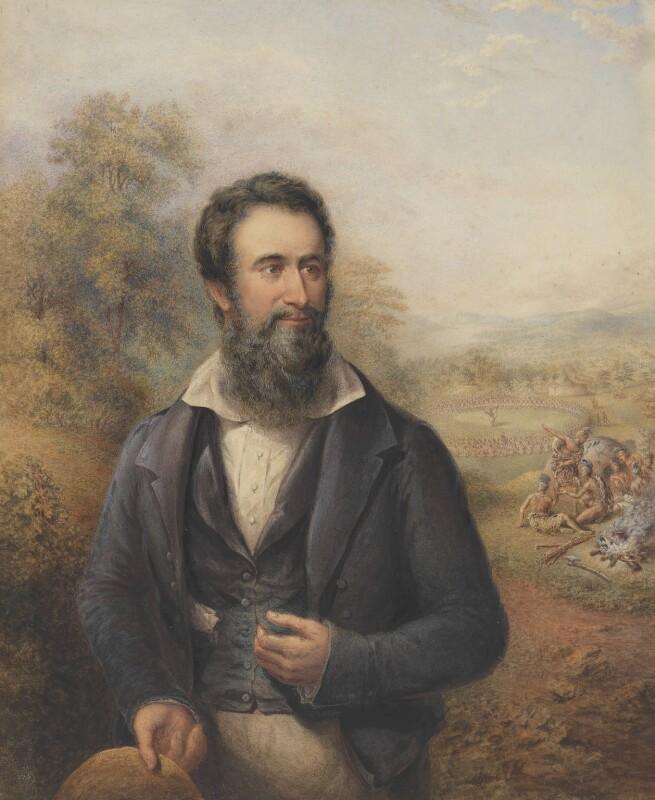 Robert Moffat, by George Baxter, circa 1842 - NPG 6312 - © National Portrait Gallery, London