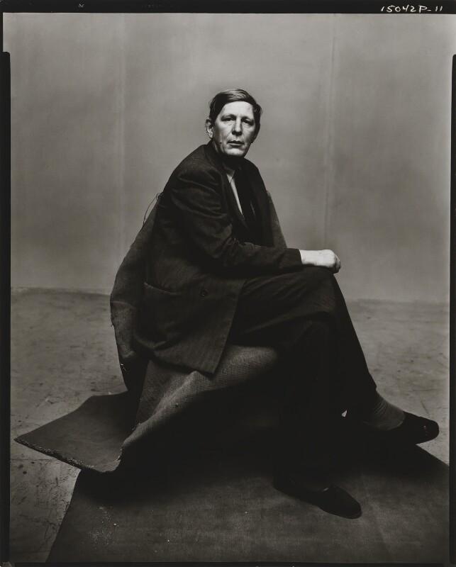 W.H. Auden, by Irving Penn, 1947 - NPG P586 - © 1984 Irving Penn, courtesy Vogue