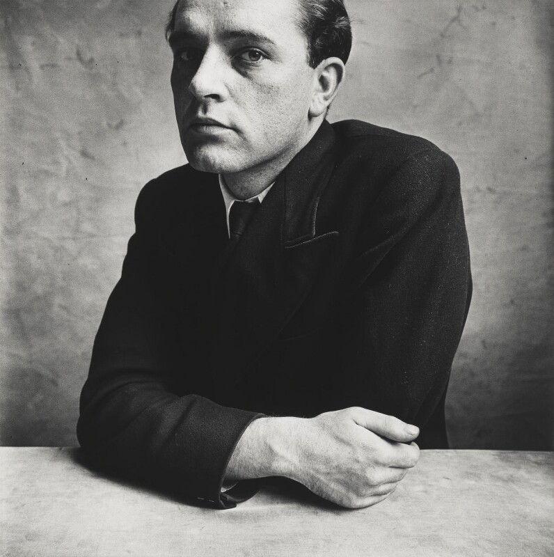 Richard Burton, by Irving Penn, 1950 - NPG P589 - © 1953 Condé Nast Publications Ltd