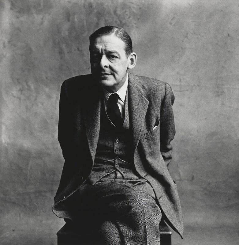 NPG P591; T.S. Eliot - Portrait - National Portrait Gallery
