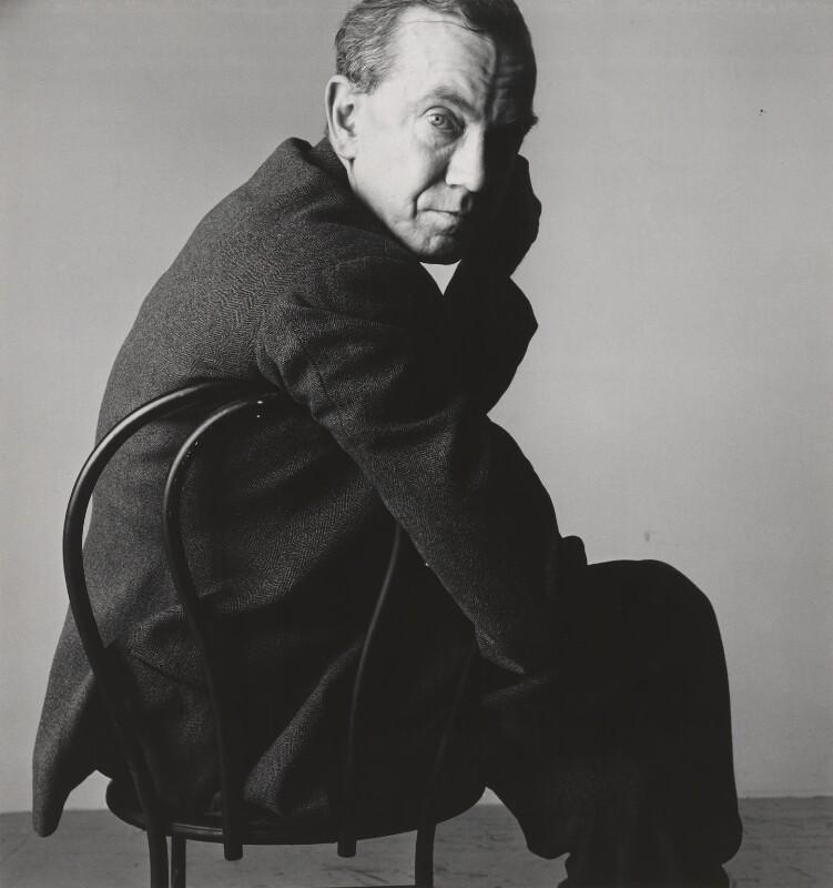Graham Greene, by Irving Penn, 1950 - NPG P592 - © 1984 Irving Penn, courtesy Vogue