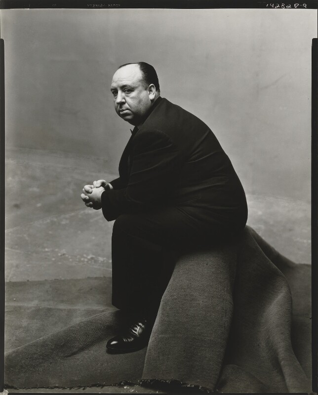 Alfred Hitchcock, by Irving Penn, 1947 - NPG P593 - © 1948 (renewed 1976) Condé Nast Publications Inc.