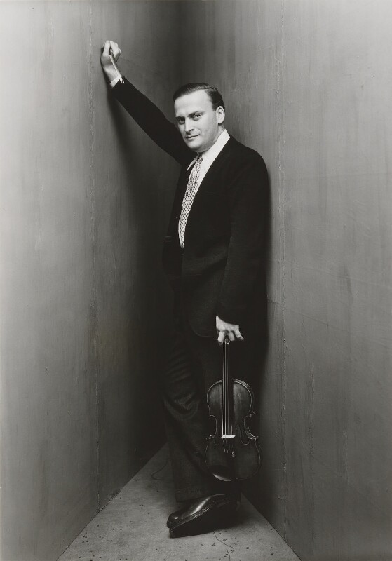 Yehudi Menuhin, by Irving Penn, 1948 - NPG P595 - © 1984 Irving Penn, courtesy Vogue