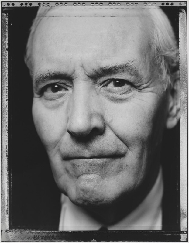 Tony Benn, by Nick Sinclair, 1992 - NPG P563(4) - © Nick Sinclair