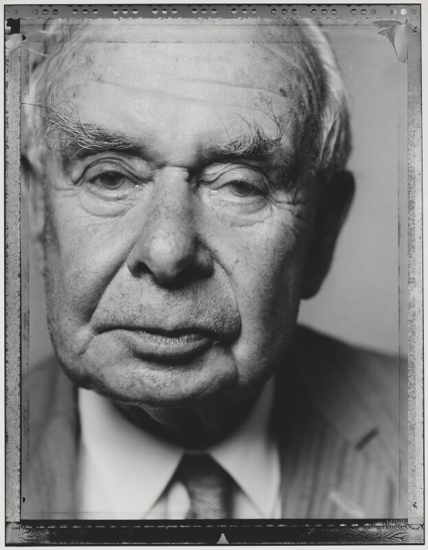 John Archibald Boyd-Carpenter, Baron Boyd-Carpenter, by Nick Sinclair, 1992 - NPG P563(9) - © Nick Sinclair