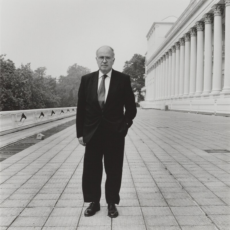 Sir Michael Francis Atiyah, by Nick Sinclair, 1993 - NPG P564(1) - © Nick Sinclair