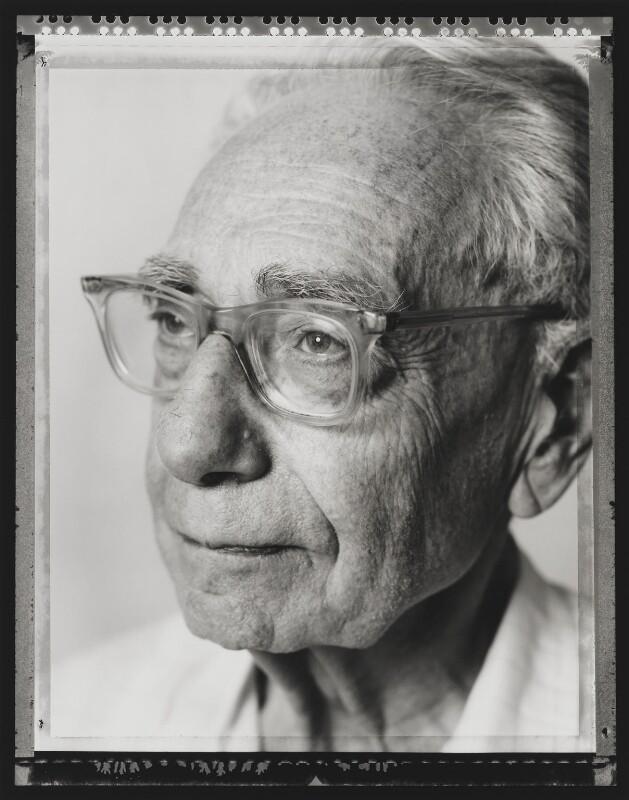 Sir Bernard Katz, by Nick Sinclair, 1992 - NPG P564(13) - © Nick Sinclair