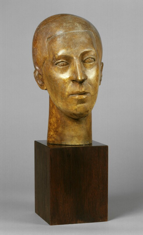 Sir Osbert Sitwell, by Frank Owen Dobson, 1994, based on a work of 1922 - NPG 6320 - © National Portrait Gallery, London