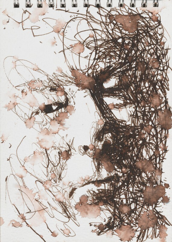 Seamus Heaney, by Ross Wilson, 1994 - NPG 6262(2) - © National Portrait Gallery, London