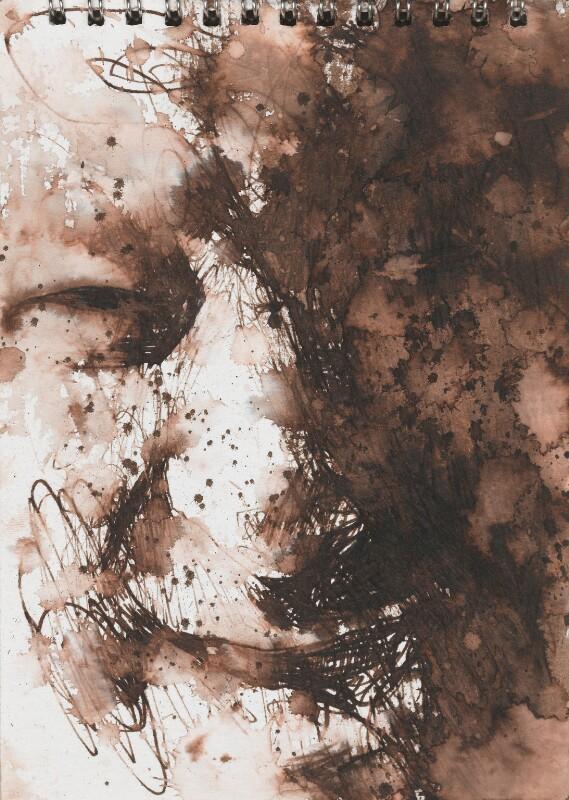 Seamus Heaney, by Ross Wilson, 1994 - NPG 6262(9) - © National Portrait Gallery, London